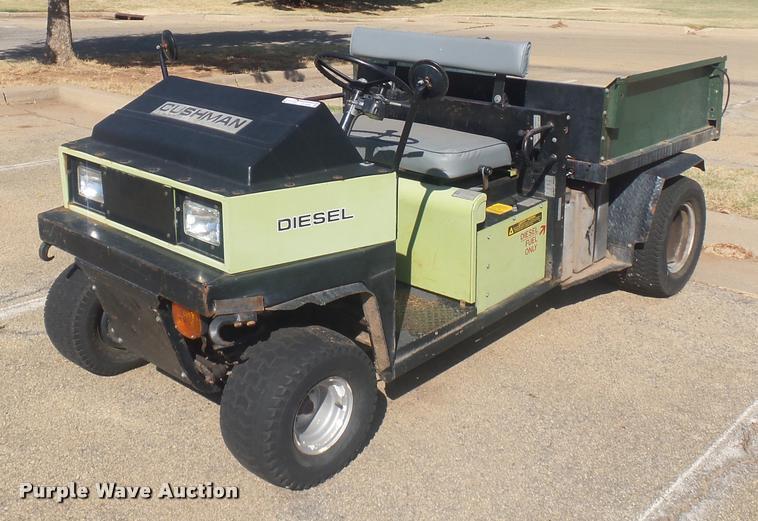 1992 Cushman Truckster utility vehicle