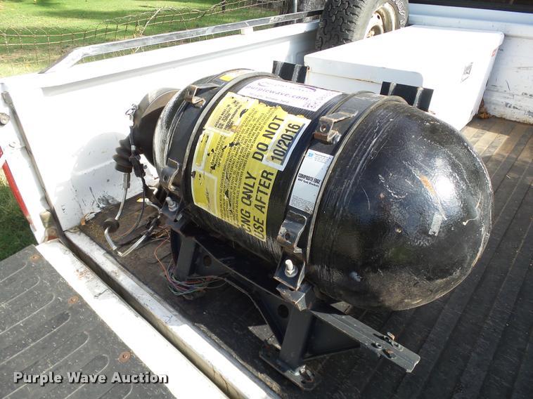 Pressed Steel Tank Co. CNG tank