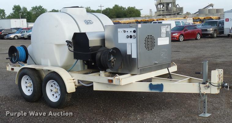 2006 Hydro-Engineering GHO-Series 5/3000GNOTT/M pressure washer trailer