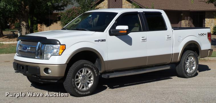 2011 Ford F150 Lariat Special Edition SuperCrew pickup truck