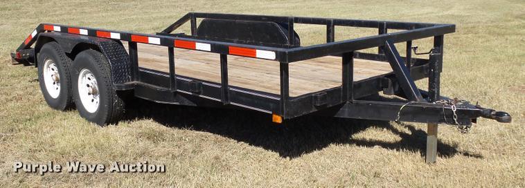Oklahoma Trailer equipment trailer