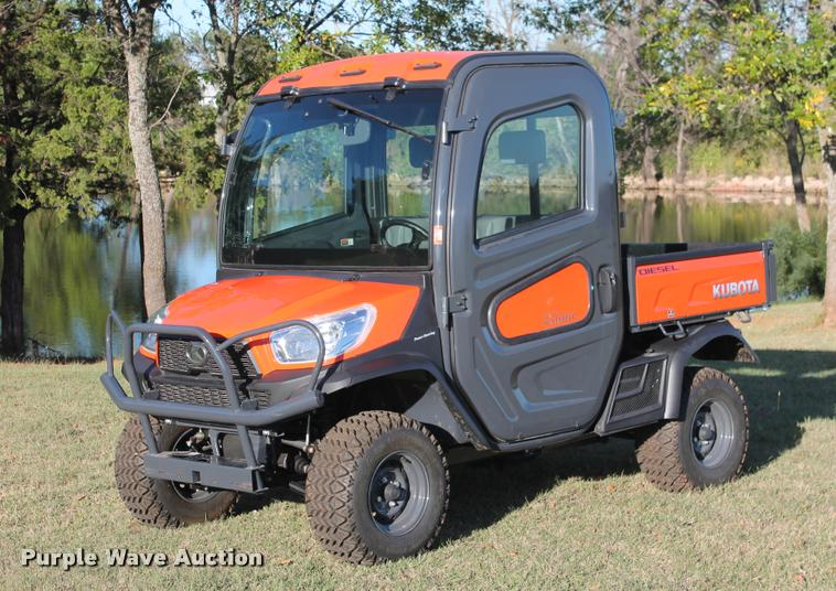 2013 Kubota RTV-X1100C utility vehicle