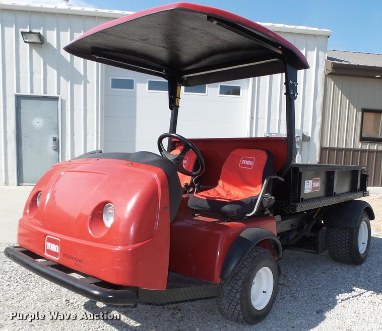 2004 Toro 3200 utility vehicle