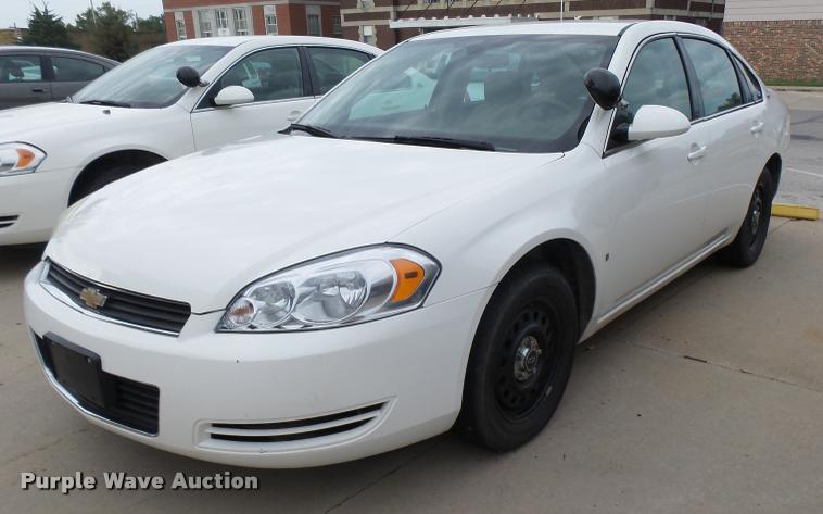 2008 Chevrolet Impala Police