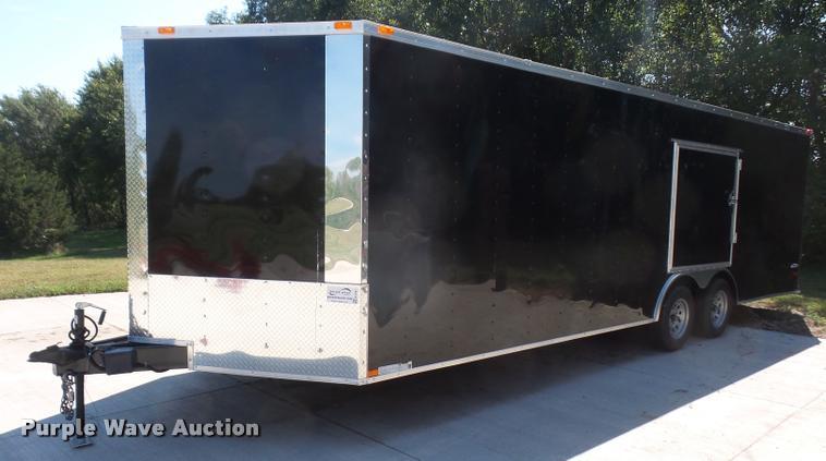 2016 Freedom 8.5X24TA2 enclosed cargo trailer