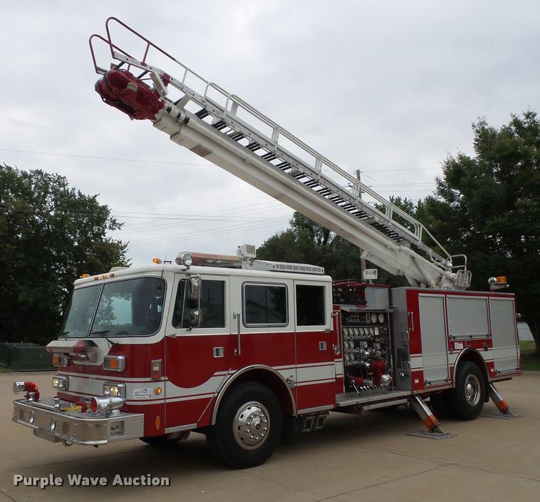 1992 Pierce Arrow E6753 Aerial Crew Cab fire truck