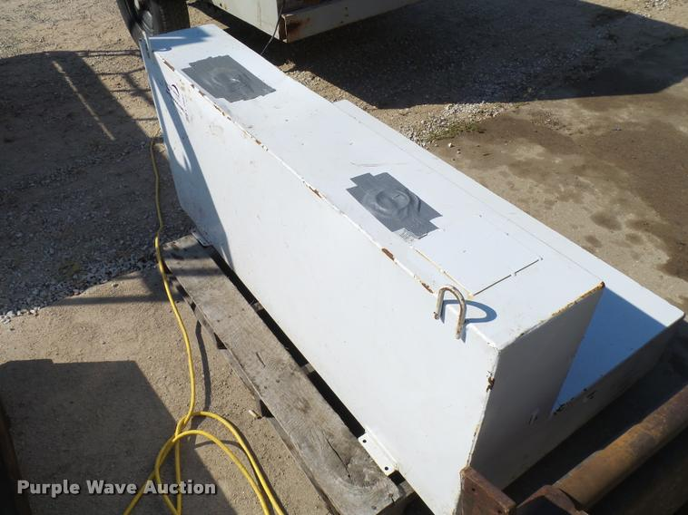 Delta Consolidated steel fuel tank