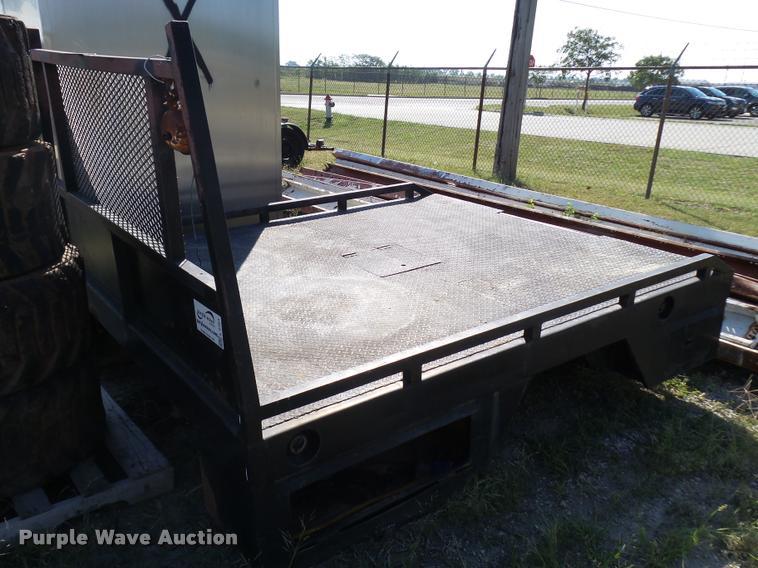 Steel flatbed