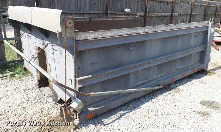 Aero dump bed