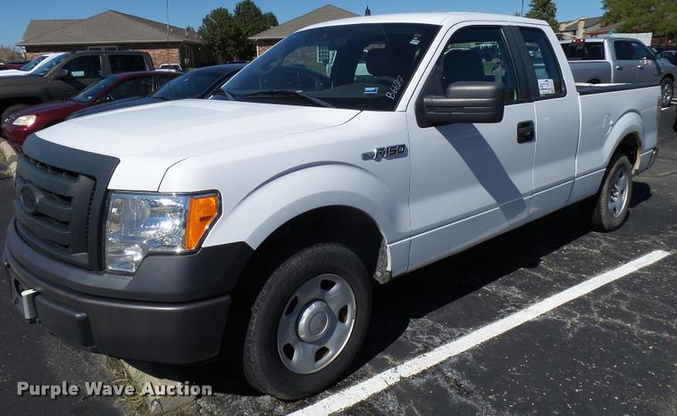 2009 Ford F150 SuperCab pickup truck