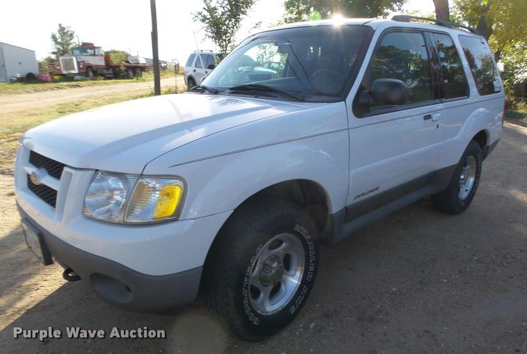 2001 Ford Explorer SUV