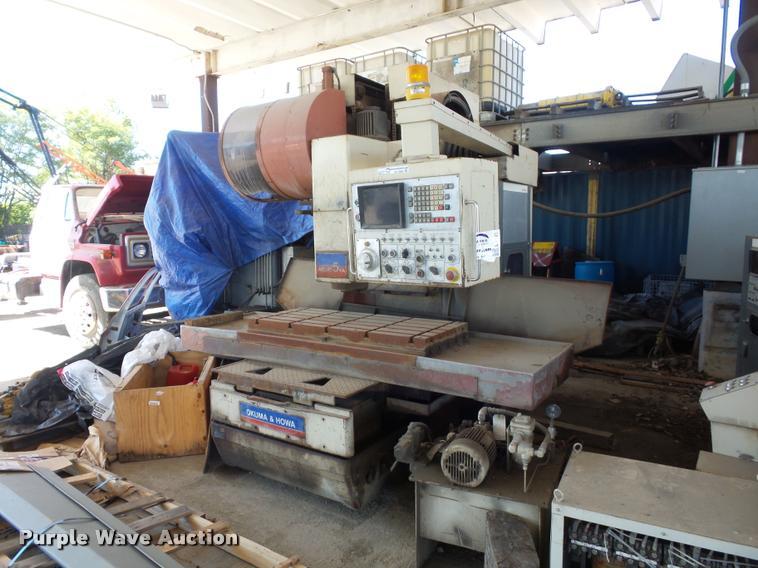 Okuma & Howa millac SVA CNC mill