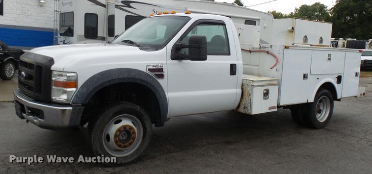 2008 Ford F450 Super Duty XL utility truck
