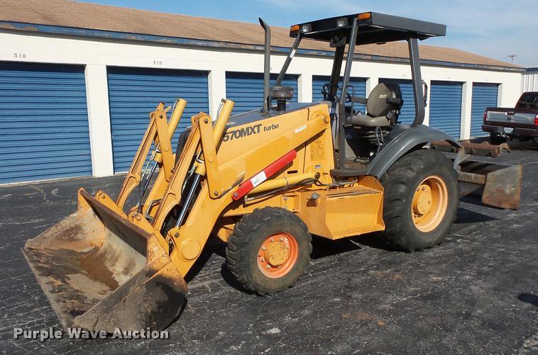 2004 Case 570 MXT landscape tractor