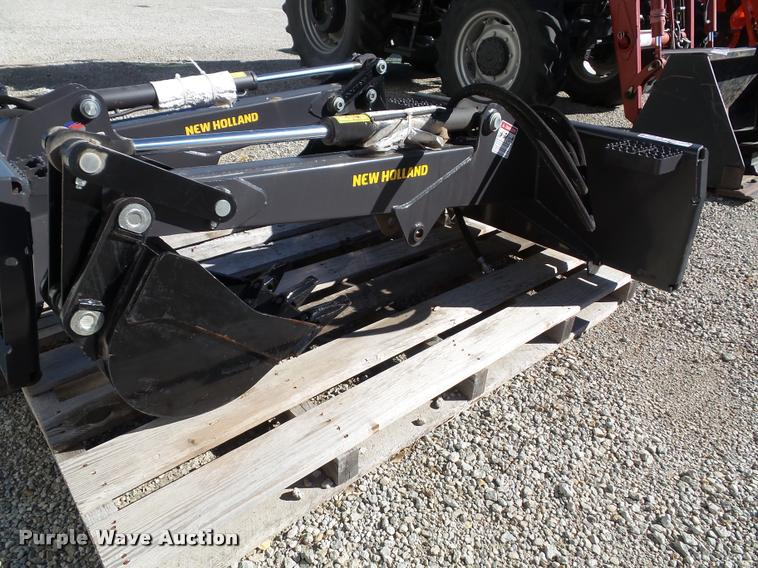 2014 New Holland skid steer backhoe attachment