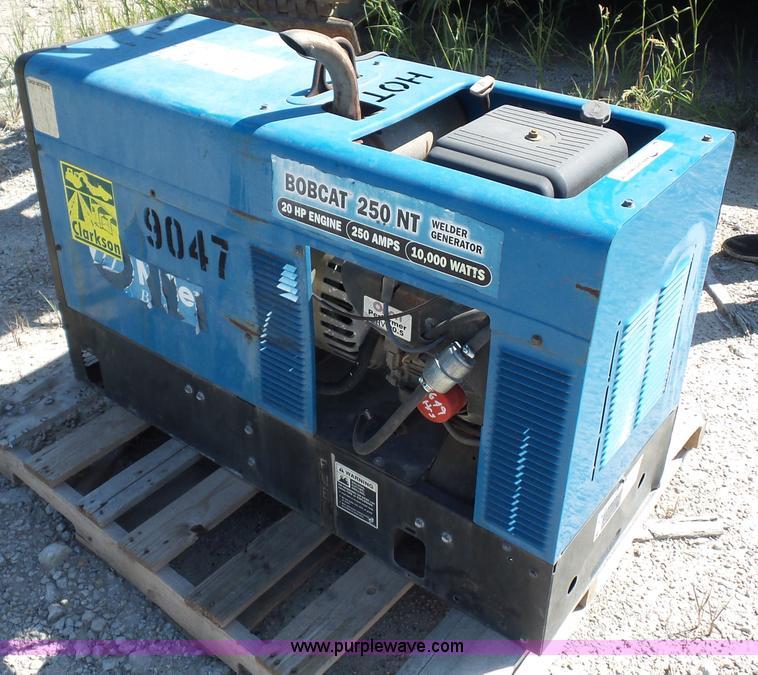 Bobcat 250NT welder/generator