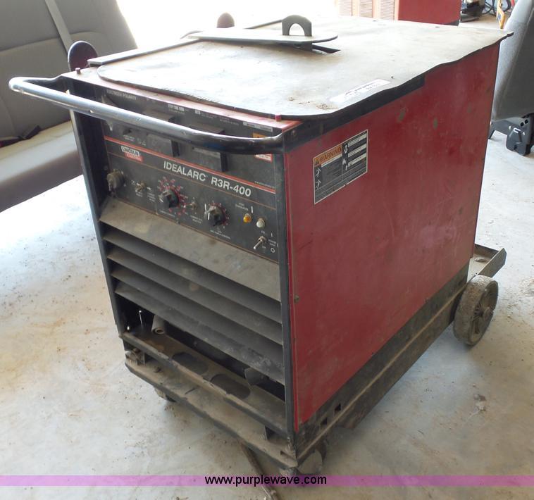 Lincoln Idealarc R3R-400 welder