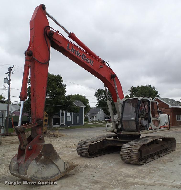 2000 Link Belt 3400 Quantum excavator