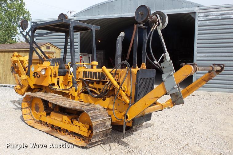 1978 Case 475 cable plow