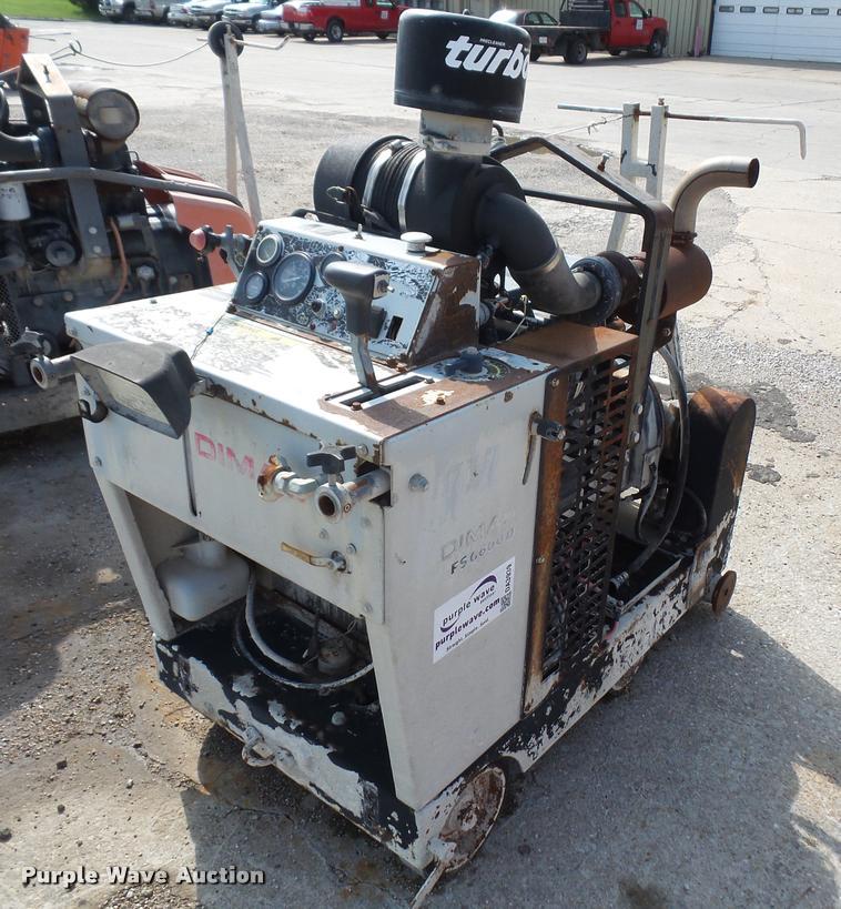 Dimas FS6600D concrete saw