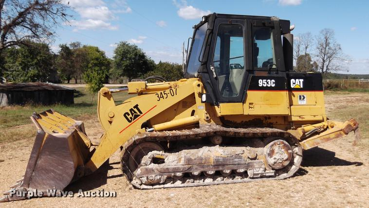 1997 Caterpillar 953C track loader