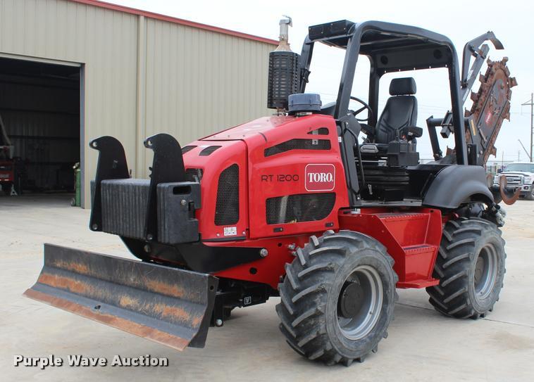 Toro RT1200 trencher