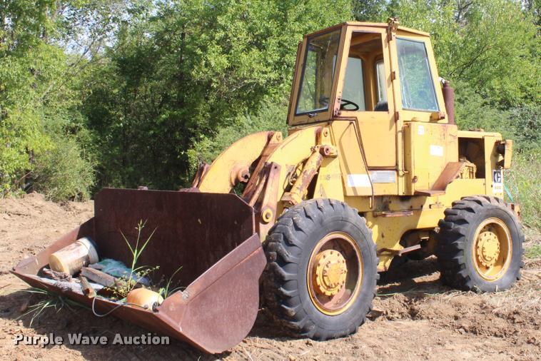 1974 Caterpillar 920 wheel loader
