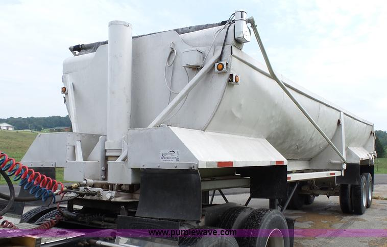 1982 end dump trailer