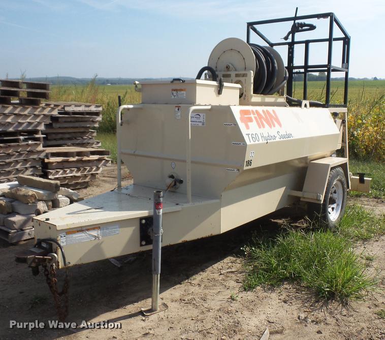 Finn T60 hydro seeder