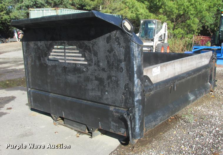 Dump bed