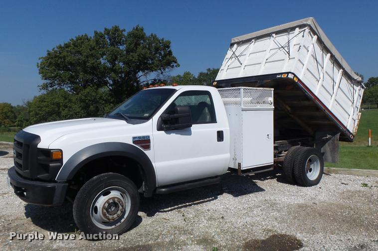 2008 Ford F550 dump truck