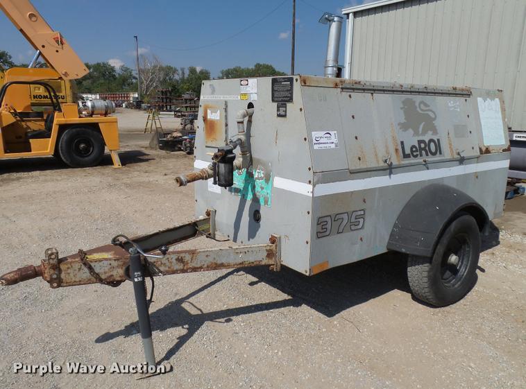 1998 Leroi 375 air compressor