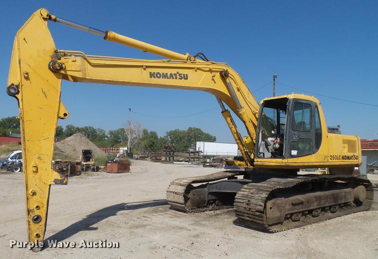 Komatsu PC250LC excavator