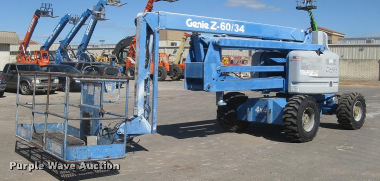 2001 Genie Z-60/34 boom lift