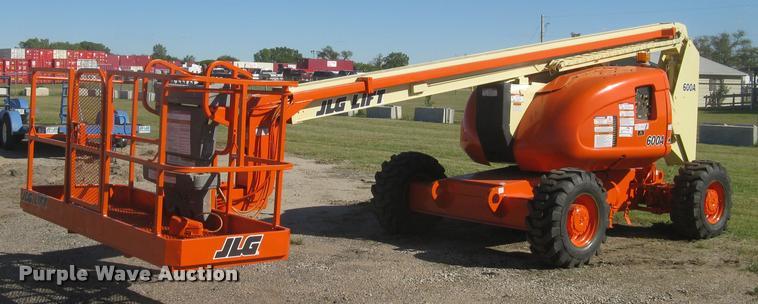 1999 JLG 600A boom lift