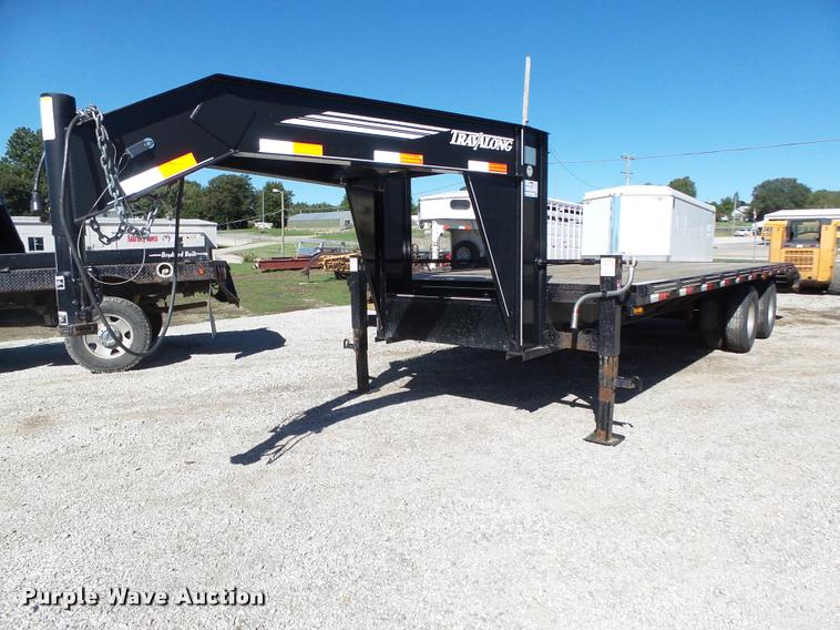 2007 Travalong equipment trailer