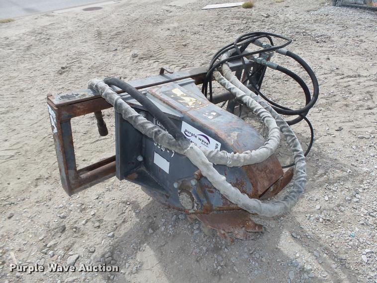 2002 Coneqtec SSG-7 skid steer asphalt slot cutter