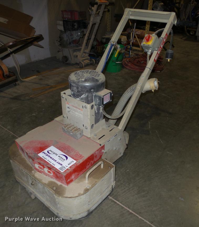 Edco 2EC-15B dual disc electric floor grinder