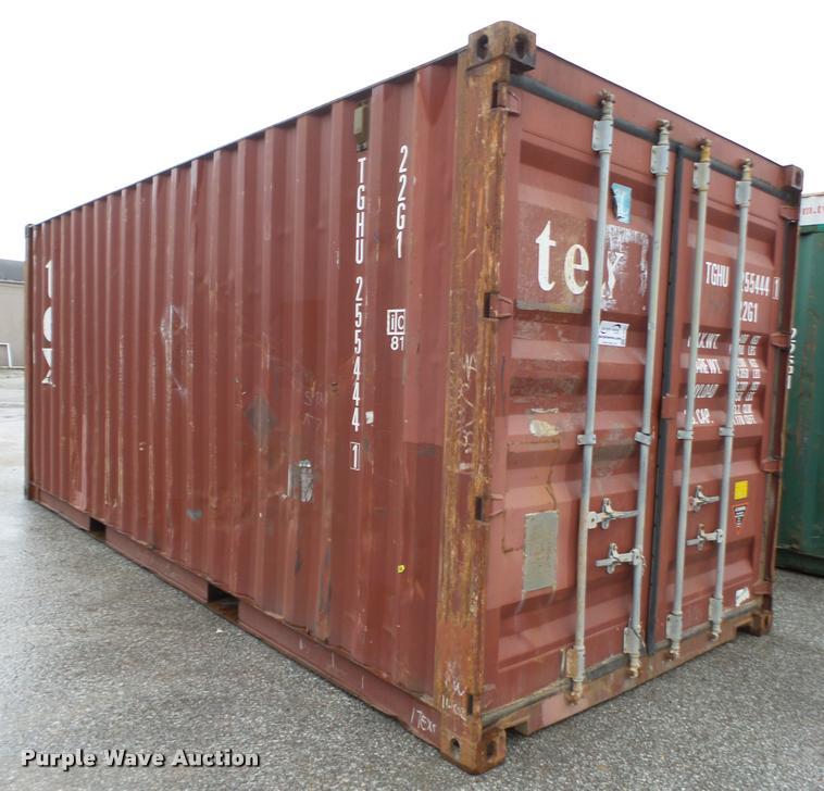 2002 TEX container