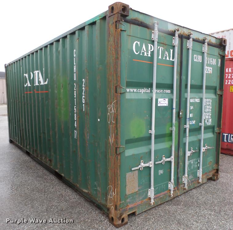 2002 Capital container