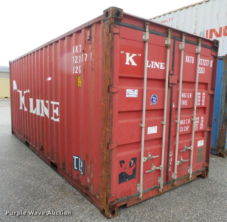 2002 K Line container