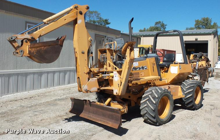Case 960 trencher