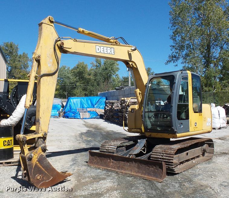 John Deere 80C compact excavator