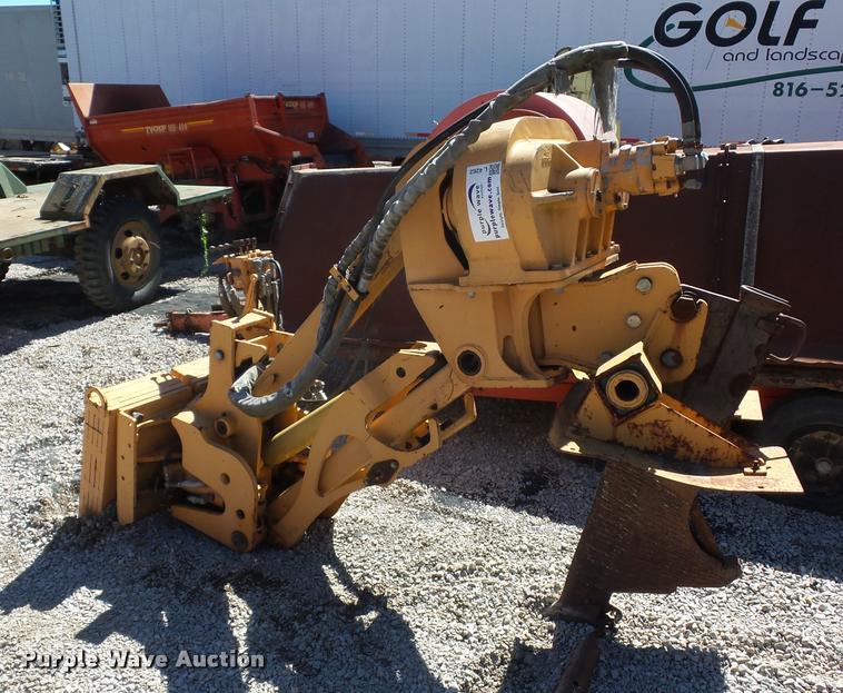 Case cable plow attachment