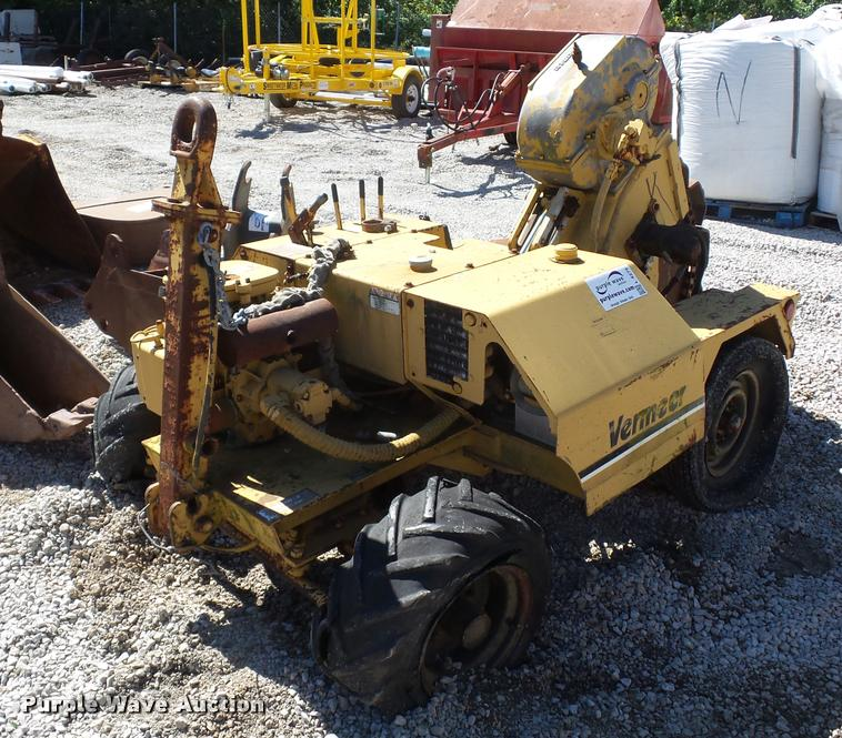 Vermeer TC4 trench compactor