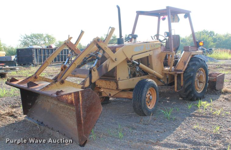 1991 Case 480F landscape tractor