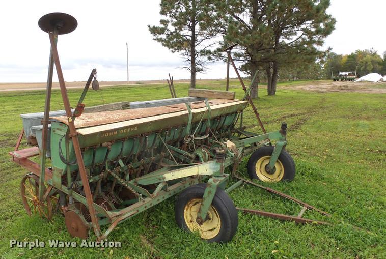 John Deere LLA grain drill