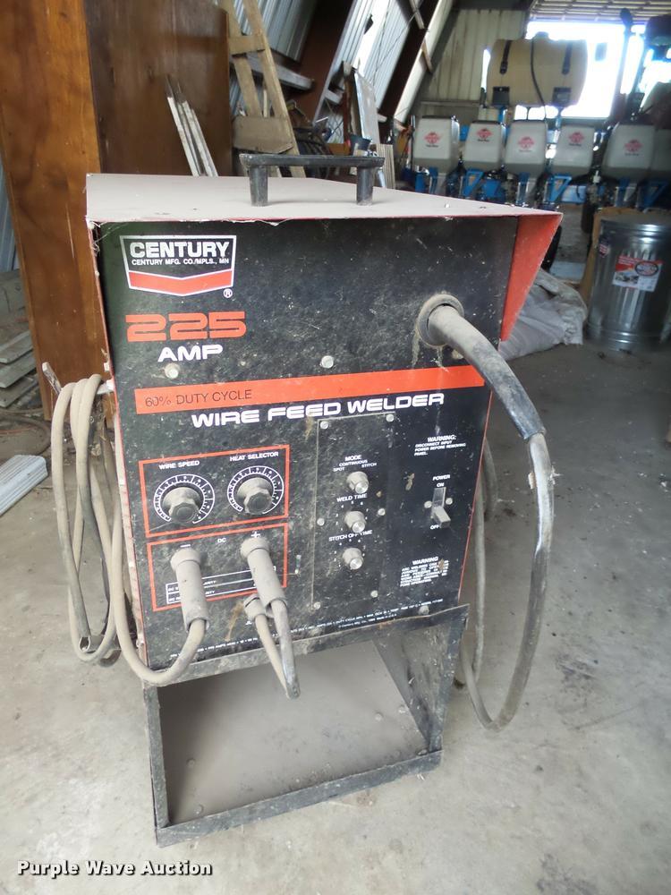 Century wire feed welder