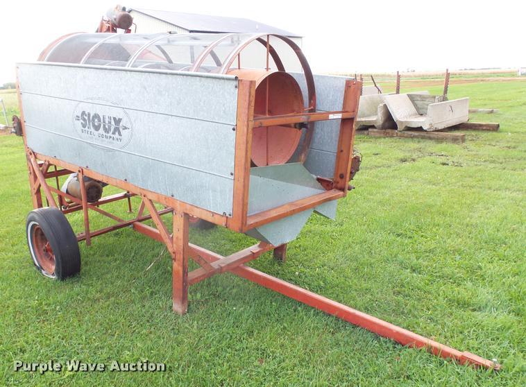 Sioux steel grain cleaner