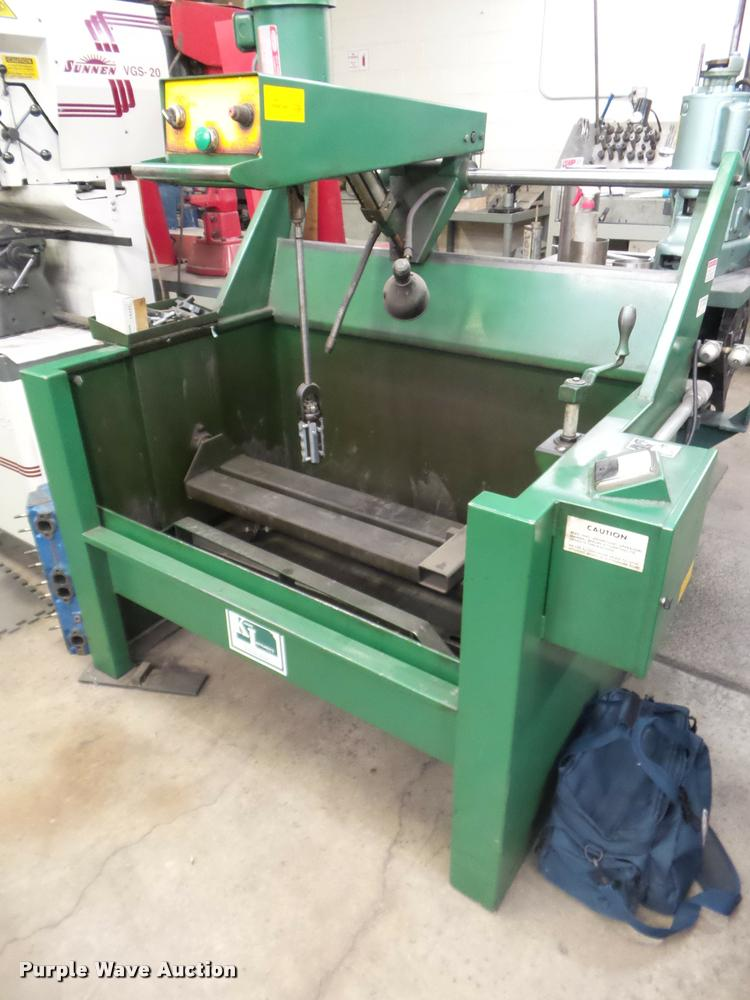 Kansas Instruments HC-1 honing machine